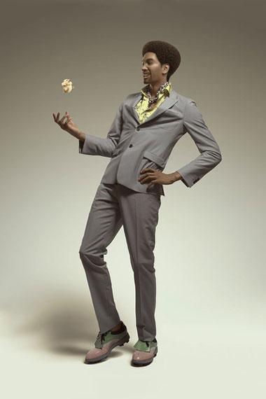 SQUARE ENIX x Prada 2012 Spring Collection in Arena Homme+ Magazine