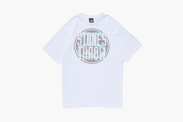stones throw x stussy 2012 tour t shirts