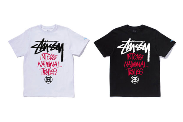 """Stussy Japan Local Color """"International Tribe"""" T-Shirts"""