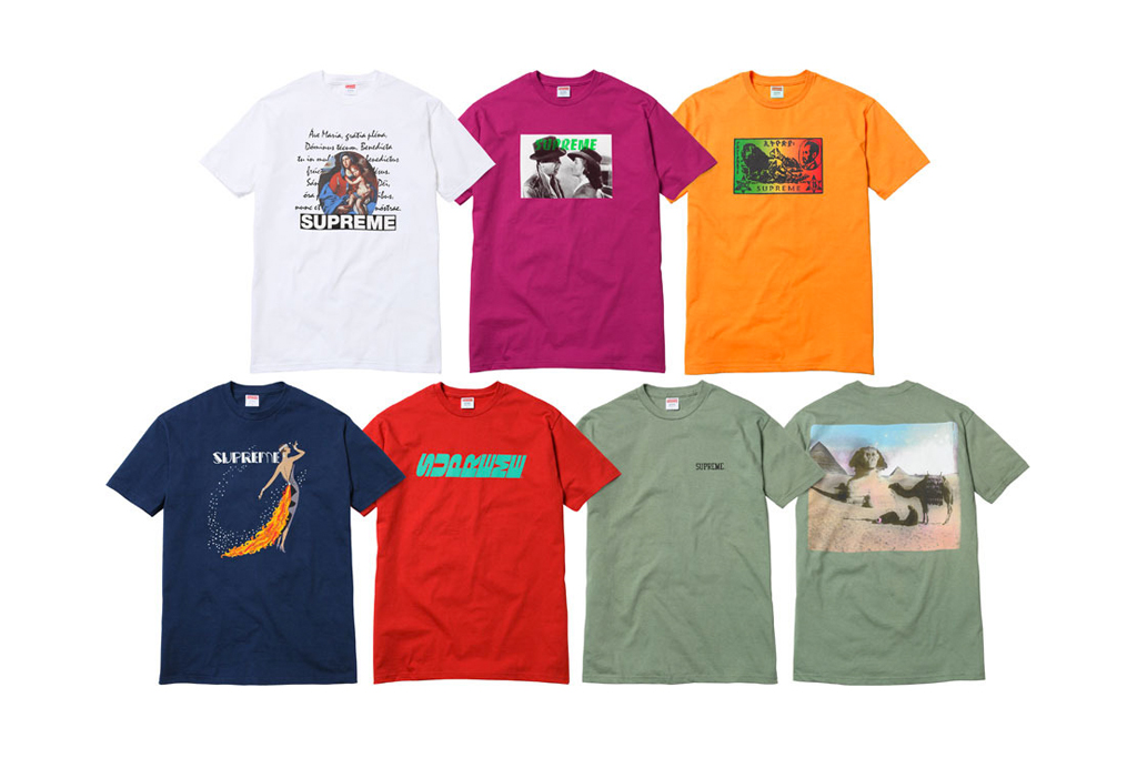 Supreme 2012 Spring/Summer T-Shirts