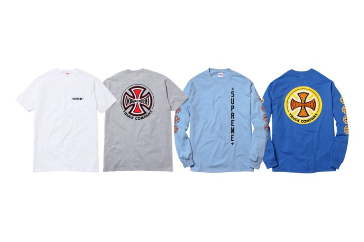 Supreme x Independent Truck Company 2012 Spring/Summer T-Shirts