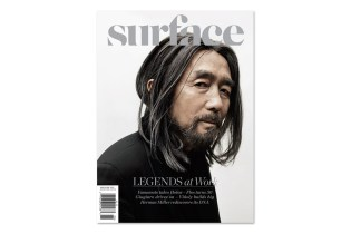 Surface Magazine 2012 May/June Cover featuring Yohji Yamamoto