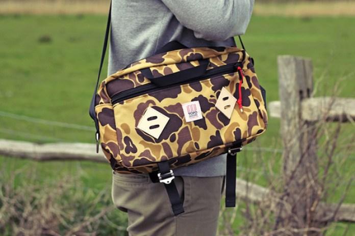 Topo Designs Duck Camo Mini Mountain Bag