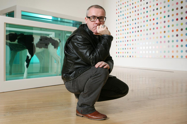 VernissageTV: Damien Hirst Retrospective @ Tate Modern Video Recap