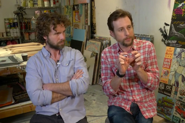 VICE: Art Talk Video - FAILE