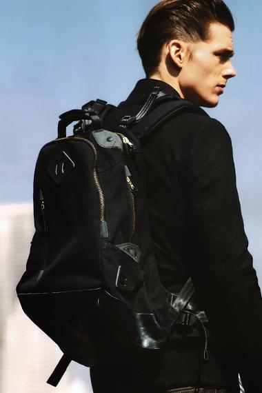 visvim 20L Backpack For THE BLACK SENSE MARKET