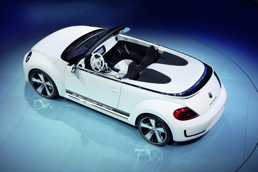 volkswagen e bugster speedster concept