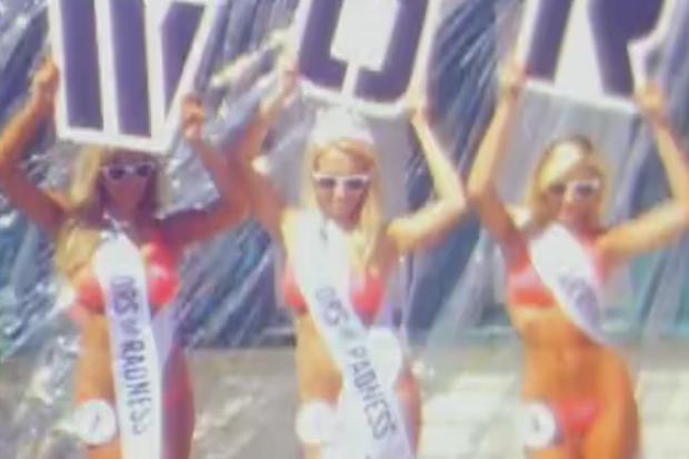 Warriors of Radness Bikini Contest Video