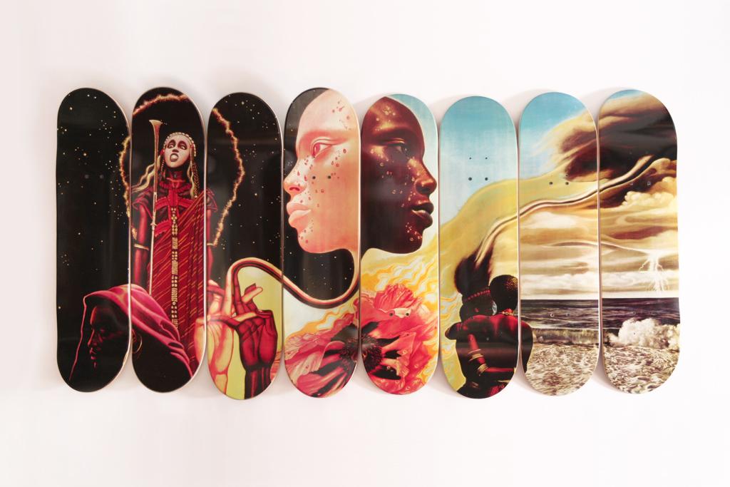 "Western Edition ""The Bitches Brew Series"" Skate Decks"