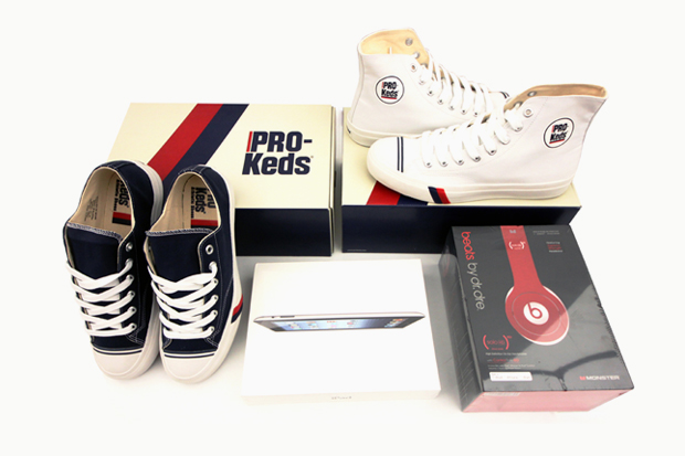 win a new ipad beats by dre solo hd and royal shoes from pro keds