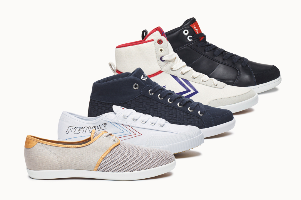 Three Pairs of Shoes from Feiyue & Feiyue Asia Winner Announcement!
