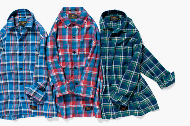 wtaps 2012 spring summer union flannel shirts
