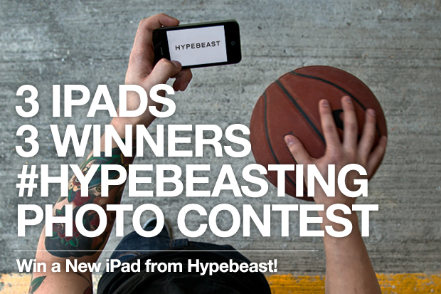 3 iPads for 3 Winners! - #HYPEBEASTing Facebook Contest