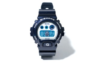 A Bathing Ape x Casio G-Shock DW-6900 Metallic Navy