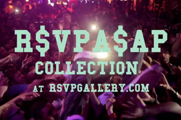 """A$AP Rocky x RSVP Gallery """"R$VPA$AP"""" Capsule Collection Video"""