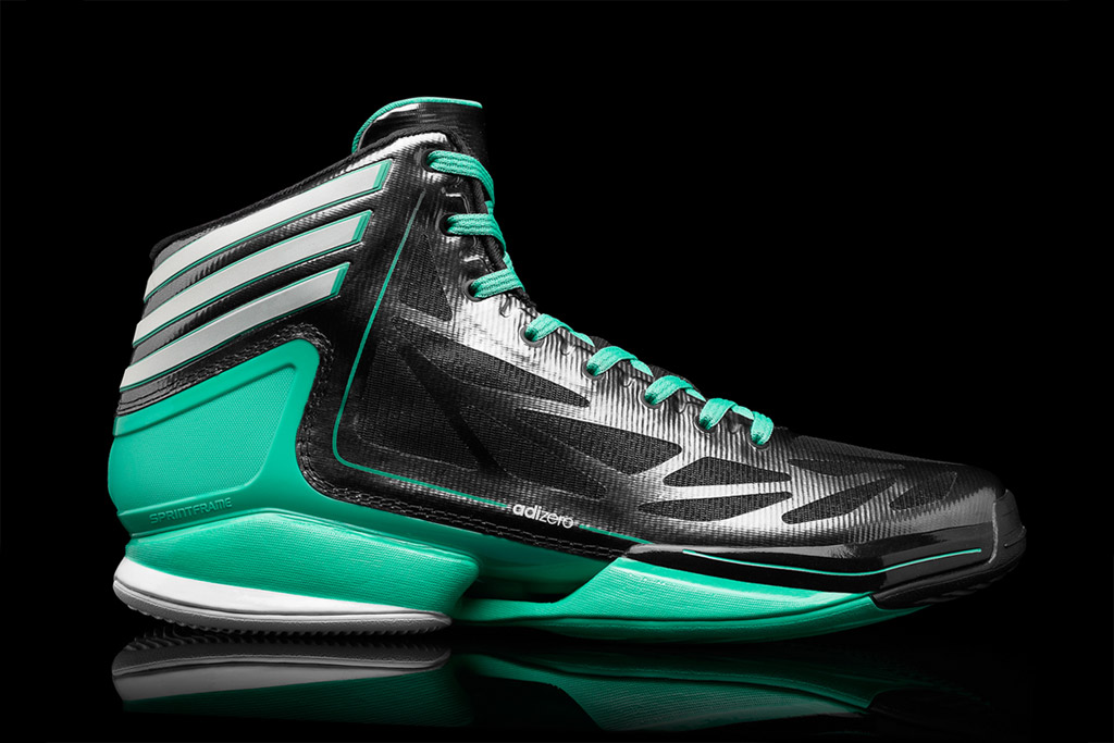 adidas adizero crazy light 2 black green
