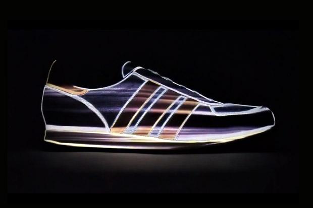 adidas Originals adistar Racer Mapping Projection Video