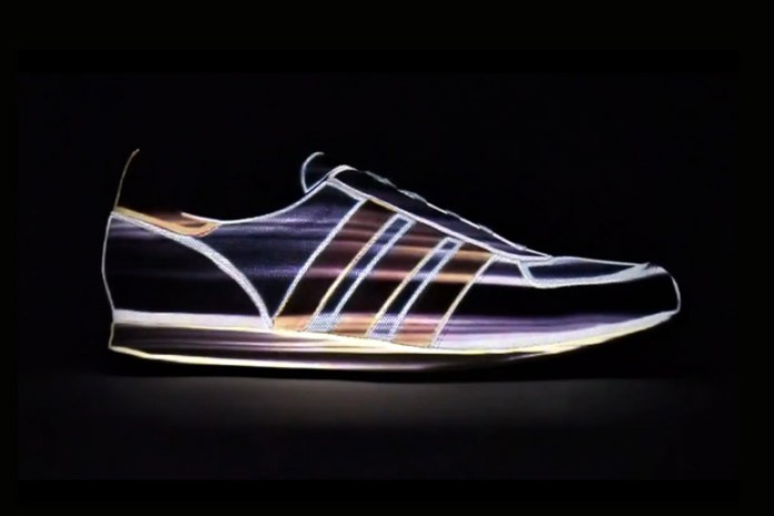 adidas Originals adistar Racer Mapping Projection Video