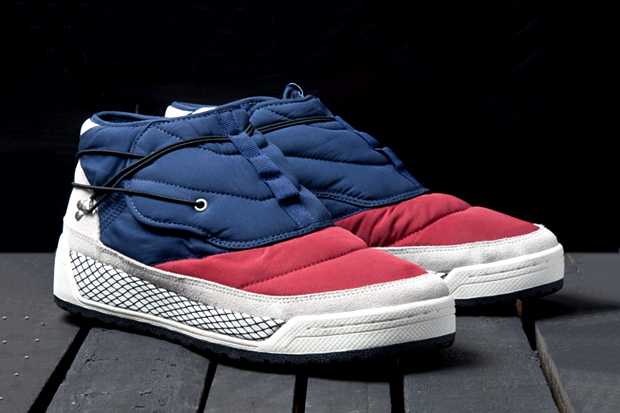 adidas originals blue hikelander snow