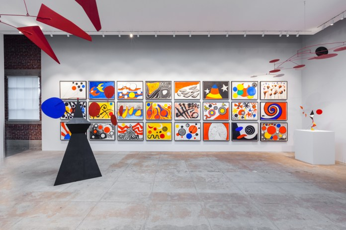 Alexander Calder Exhibition @ L&M Gallery Los Angeles