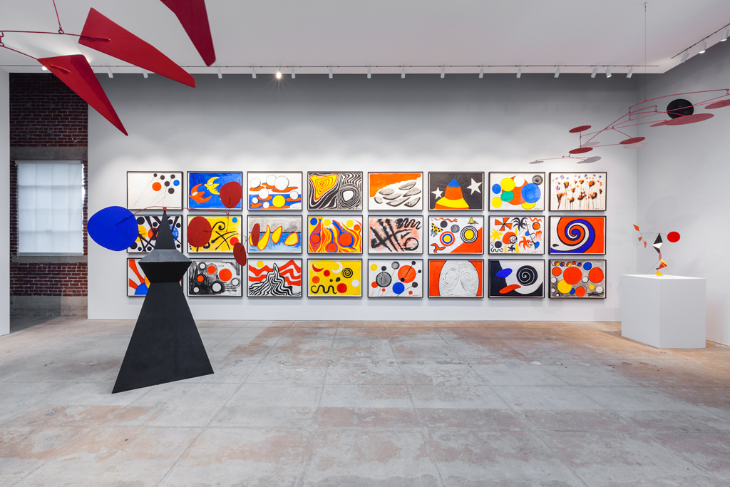 alexander calder exhibition lampm gallery los angeles