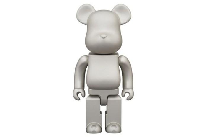 AMIREX x Medicom Toy 400% Aluminum Bearbrick