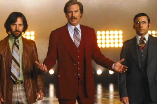 Anchorman 2: The Legend Continues Film Teaser