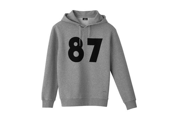 "A.P.C. 25th Anniversary ""87"" Hoodie"