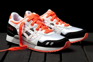"ASICS Gel Lyte III ""Orange Blaze"""