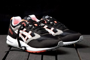 Asics Gel Saga black light grey mint 360 product view Market360