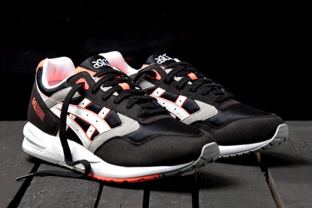 asics gel saga orange blaze