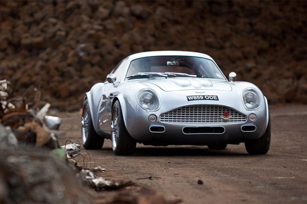 Aston Martin DB4 Zagato Carbon Fiber