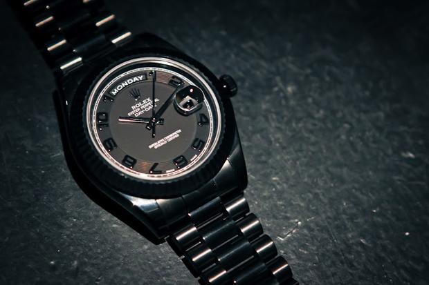 Bamford Watch Department Rolex 41mm Day/Date Phantom