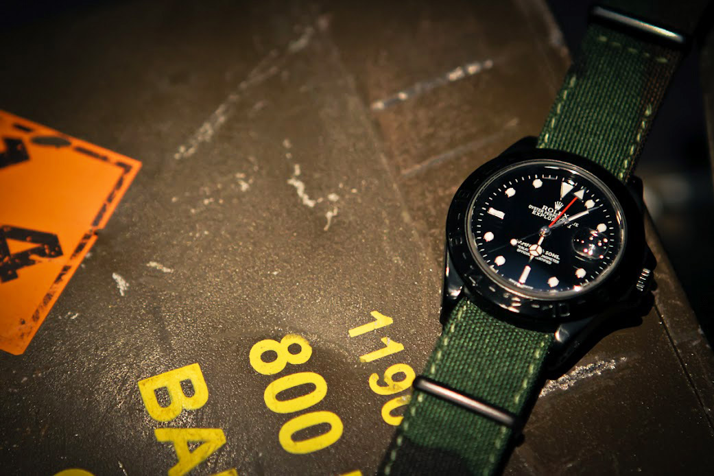 bamford watch department rolex explorer ii