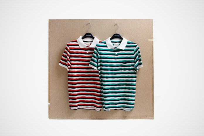 Band of Outsiders 2012 Spring/Summer Striped Polo Shirts