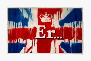 "Banksy ""Er..."" Diamond Jubilee Print"