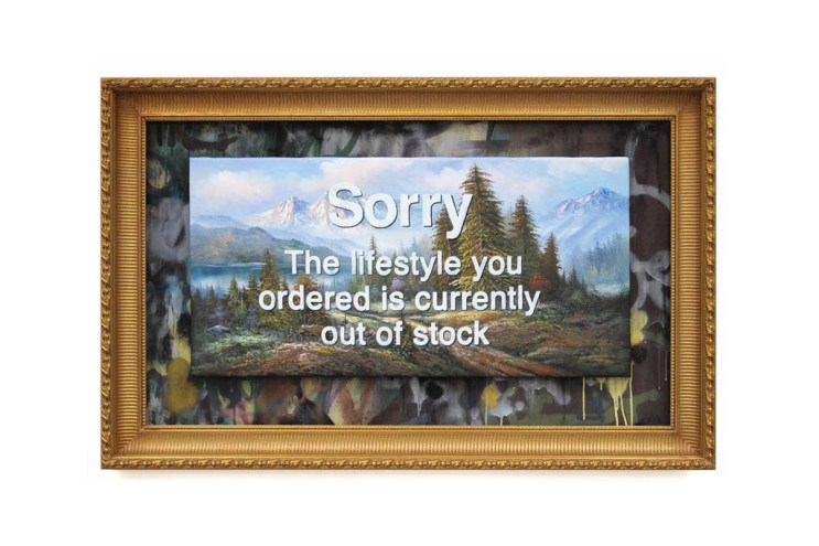 Banksy Unveils New Paintings