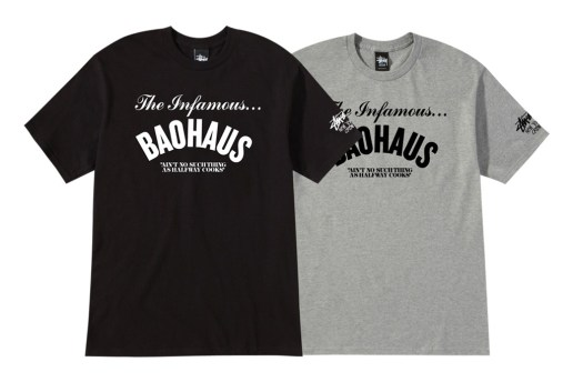 "Baohaus x Stussy 2012 ""The Infamous BAOHAUS"" T-Shirt"