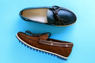 Buttero 2012 Spring/Summer Colored Ripple Sole Boat Shoes