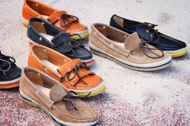 Buttero 2012 Spring/Summer Color Welt Boat Shoes