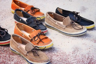 Buttero 2012 Spring/Summer Color Welt Boat Shoes