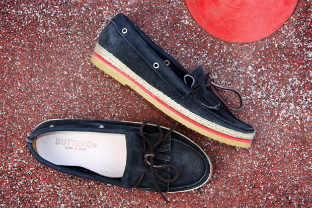 buttero 2012 spring summer color welt boat shoes