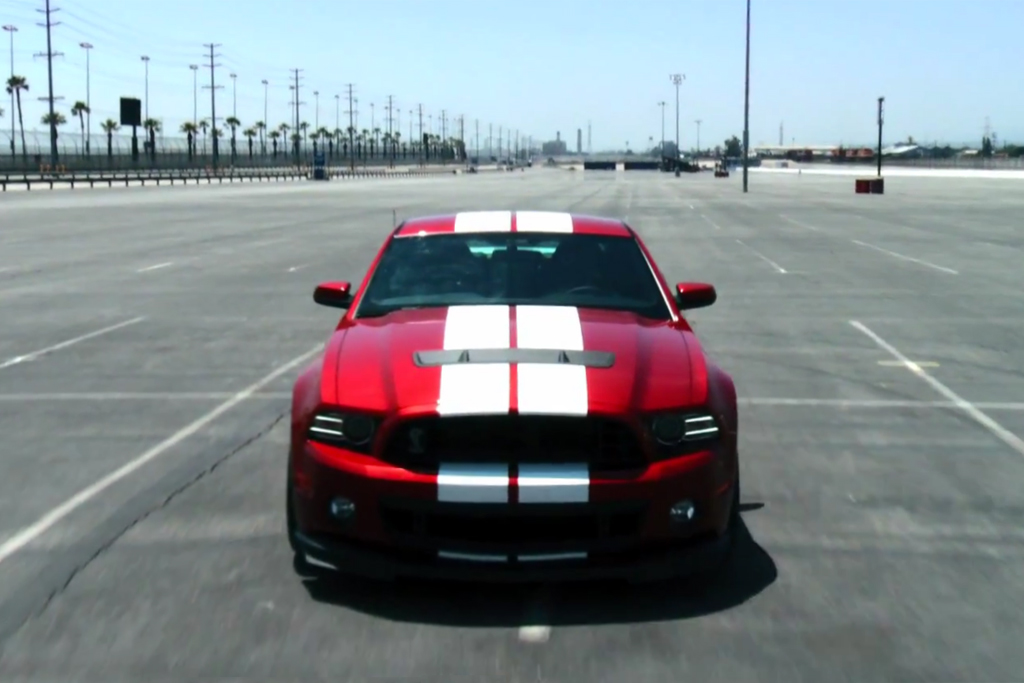 The 662 hp Ford Shelby GT500 Takes a Run at 200 MPH