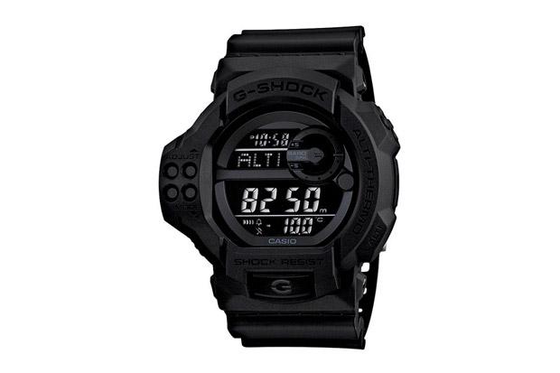 """Casio G-Shock GDF-100BB-1JF """"Solid Black"""""""