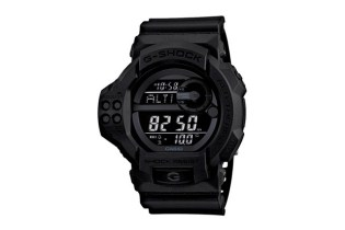 "Casio G-Shock GDF-100BB-1JF ""Solid Black"""