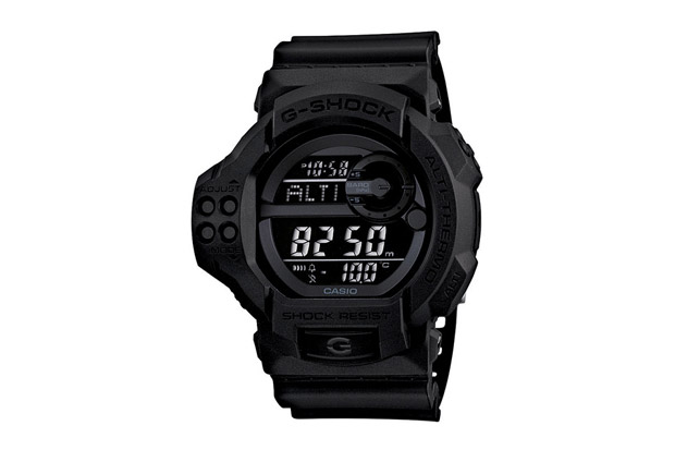 casio g shock gdf 100bb 1jf solid black
