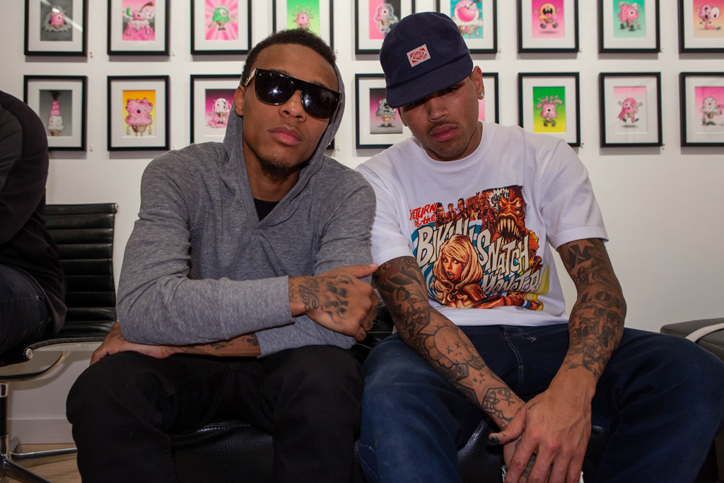 Chris Brown x Ron English DUM ENGLISH Launch Recap @ Cory Helford Gallery