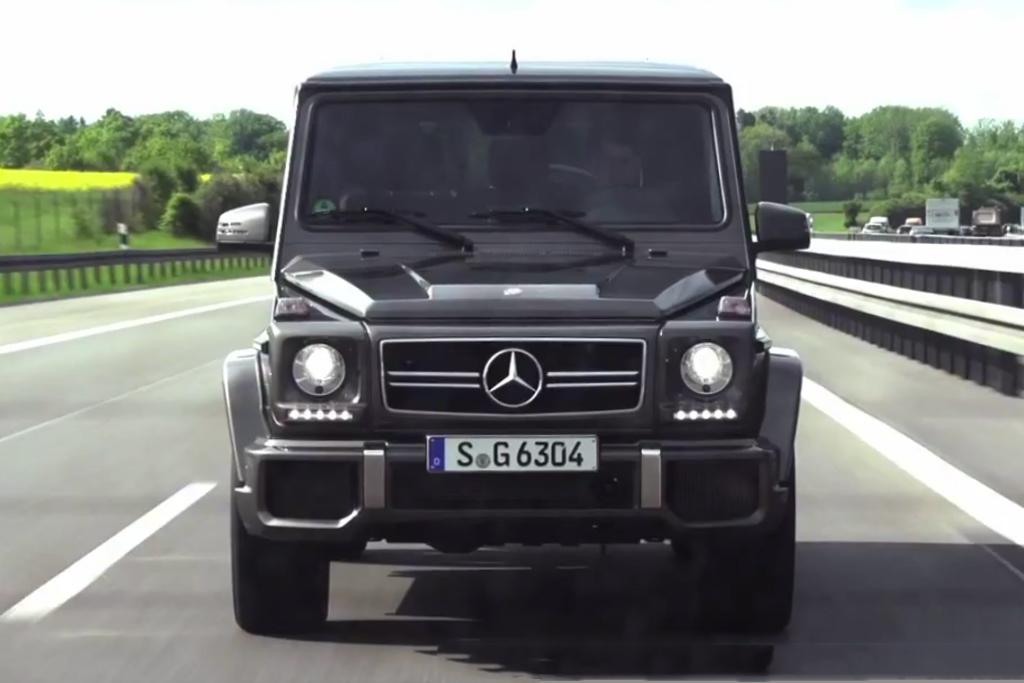 Chris Harris on Cars: 2013 Mercedes-Benz G63 AMG Video