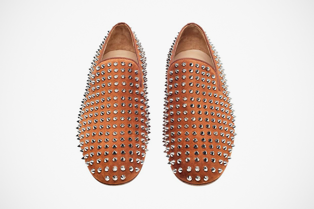 christian louboutin 2012 spring summer suede rollerboy spikes
