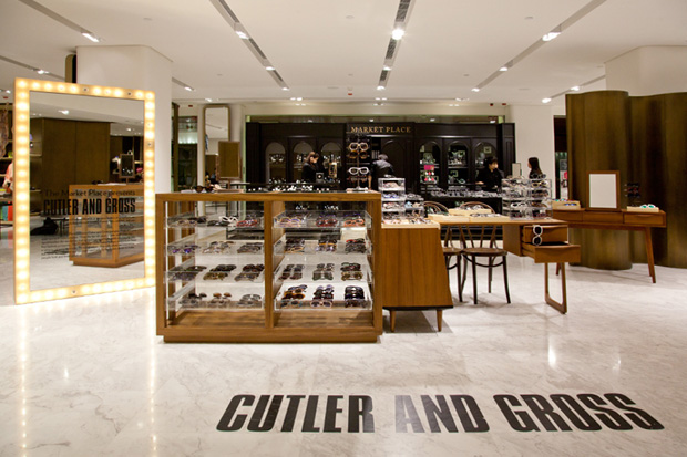 cutler amp gross pop up store lane crawford canton road
